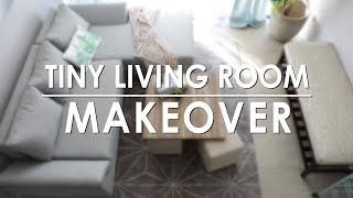 Tiny Living Room Makeover - Mandaue Foam Home TV