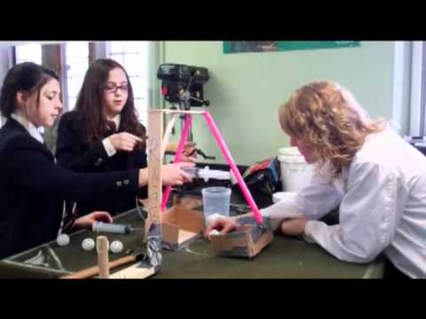 Junior School Hydraulic Robotics Competition '12: Science At Trinity College School - Smashpipe science
