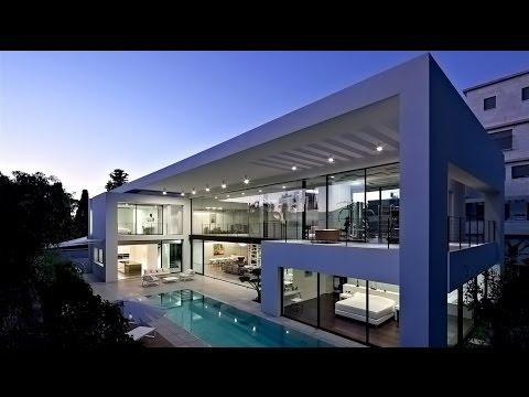 Ohromujúca a ultramoderná moderná rezidencia v Haife v Izraeli