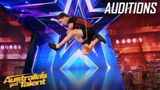 Luke Boon is an AMAZING Skipper! | Auditions | Australia's Got Talent