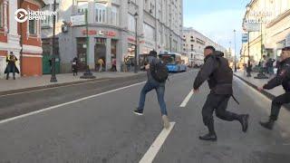 Задержания центре Москвы