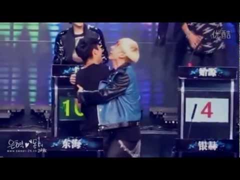 Eunhyuk & Donghae singing fail + EunHae's unexpected burst of happiness