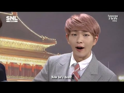 [ENG] 150530 SHINee SNL Korea - [Global Weekend] part 1