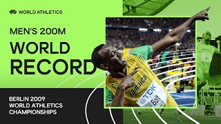 World Record | Men's 200m Final | IAAF World Championships Berlin 2009