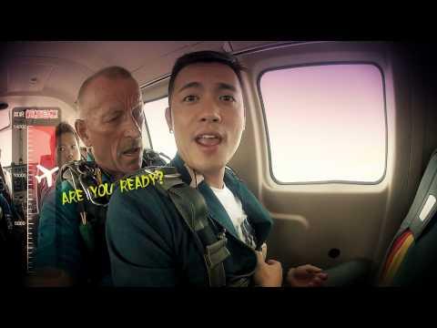 范逸臣【什麼風把你吹來的】你沒看到的幕後拍攝花絮  skydive gopro music vidio