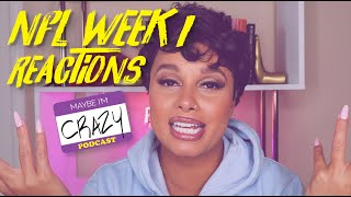 Joy's Top 10 Reactions to NFL Week 1 | MAYBE I'M CRAZY