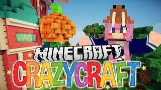 Halloween Trick or Treat Pranks | Ep 12 | Minecraft Crazy Craft 3.0