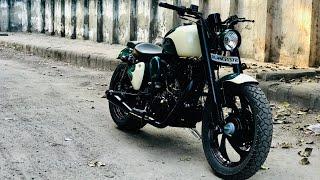 Royal Enfield | bike modification | Into Harley davidson I