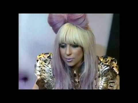 Lady GaGa Interview in Korea Korean Fans Go GaGa for Lady GaGa (10 august 2009) HD