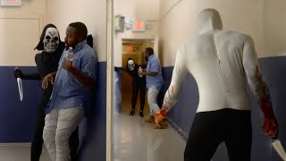 EXTREME HALLOWEEN SCARE PRANK! | In The Hood