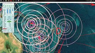 1/17/2019 -- Wide spread of Earthquakes across whole USA -- Pacific unrest shows clusters