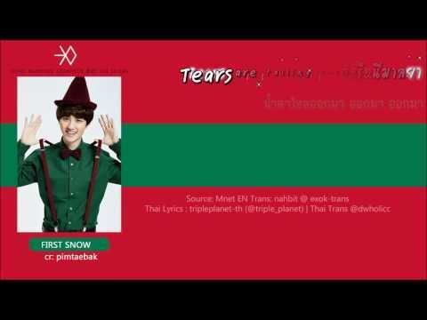 [Karaoke-Thaisub] EXO - 첫 눈 (First Snow) (Korean Version)