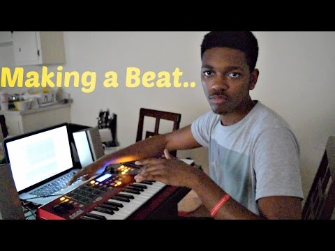 Making a Beat..