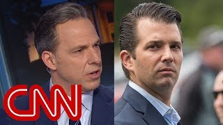 Jake Tapper on Donald Trump Jr.: That is blatant racism