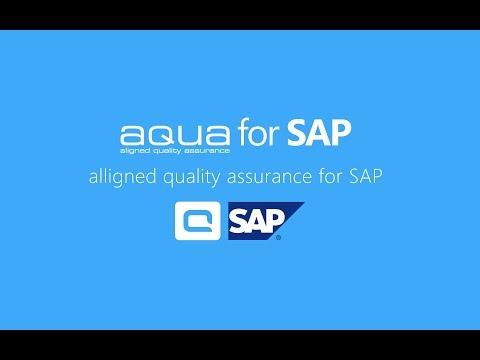Qualitätssicherung für SAP Projekte mit aqua für SAP