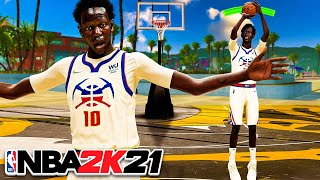 BOL BOL 7'1 BUILD is ELECTRIFYING on NBA 2K21