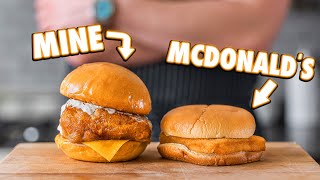 Making the McDonald's Filet-O-Fish Sandwich At Home | But Better