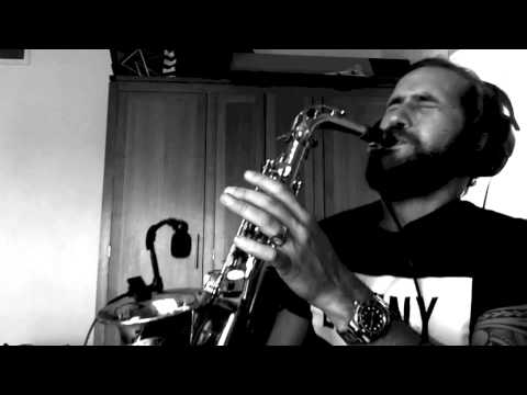 No man no cry - Jimmy Sax (live)