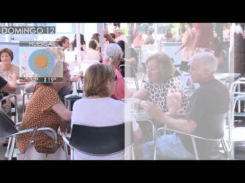 Aragón mantendrá el fin de semana un calor sin variaciones con granizo en alta montaña