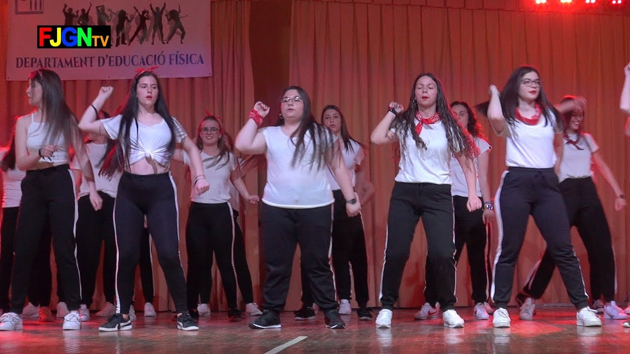 16. Dembow El Pimpin / Con Calma - Bailes Educacion Fisica 2019 IES Nules