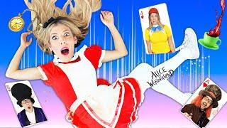 Giant Alice In Wonderland Hacker Party in Real Life   Rebecca Zamolo
