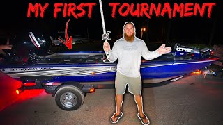 My FIRST Bass Fishing Tournament w/ NEW Boat (DISASTER!!)
