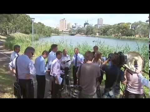 Environmental Flow Regulator Chowilla - York Civil. 7News