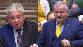 "BREXIT: Speaker Bercow loses it when Ian Blackford brands PM May ""a LIAR"" (12th February 2019)"