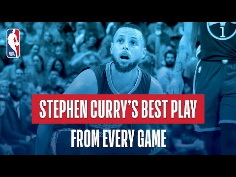 Stephen Curry's Best Play From Every Game | 2017-2018 NBA Season