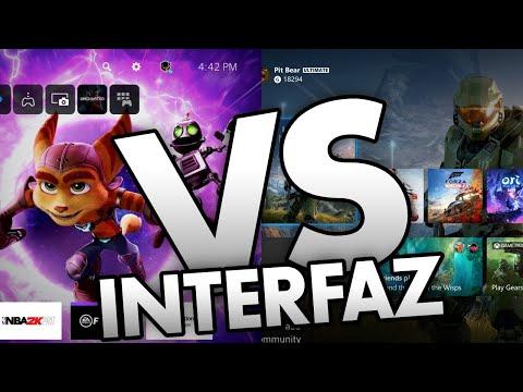 Interfaz de PS5 vs Xbox Series X! Cuál es la mejor? #PlayStation5 #XboxSeriesX #XboxSeriesS