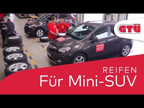 SUV-Sommerreifen im GTÜ-Praxistest