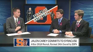 Jalen Carey Commits to SU | 'Cuse Countdown