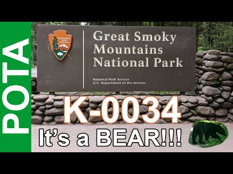 Ham Radio POTA - Smoky Mountains National Park K-0034