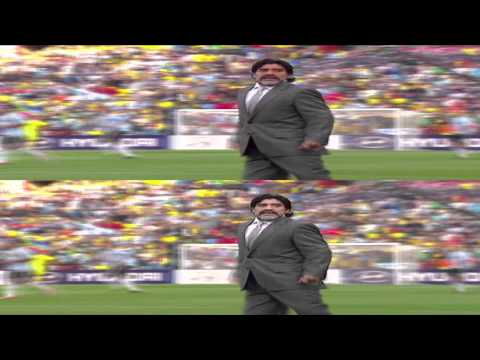 3D TV FIFA 3D World Cup 2010 Highlights ARG-NIG in 3D Stereoscopic 1080p TRU3D