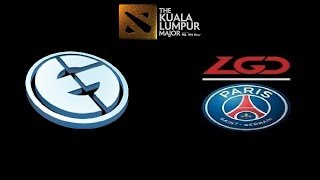 "EG vs PSG LGD [ENG] ""Dota2 Live"" Day 4 Playoffs - The Kuala Lumpur Major"
