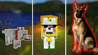 CÁCH ĐỂ BIẾN CHÓ THƯỜNG TRỞ THÀNH CHÓ NGHIỆP VỤ !!! - Minecraft