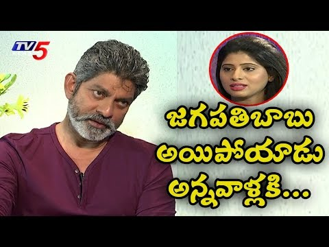 Hero Jagapati Babu Exclusive Interview On 30 Years Career   TV5 News