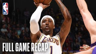 JAZZ vs LAKERS | Kentavious Caldwell-Pope Leads Los Angeles | April 7, 2019