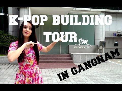 Kristin's K-Pop Building Tour in Gangnam (CUBE, JYP, FNC AND SM)