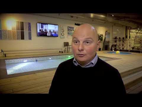 Finalist Årets Tillväxtpris vid Sparbanken Syds Tillväxtdag - Österlens Poolcenter