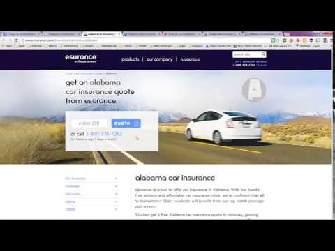Cheap Car Insurance in Alabama