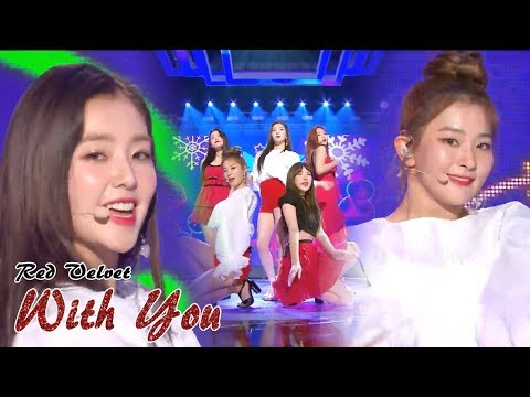 [HOT]RED VELVET - WITH YOU , 레드벨벳 - 한 여름의 크리스마스   Music core 20180811