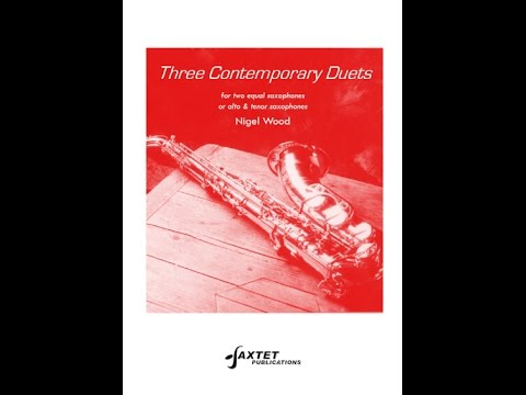 Three Contemporary Duets - for saxophones