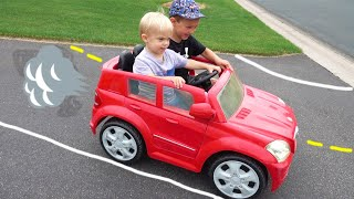 Kids Power Wheels Red Car