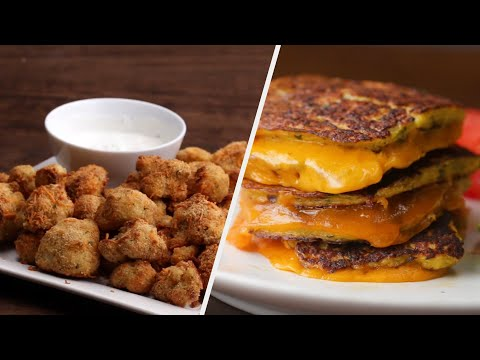 5 Crispy & Cheesy Cauliflower Snacks ? Tasty Recipes