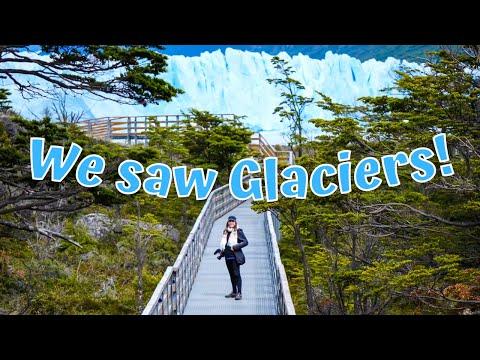 Patagonia's PERITO MORENO Glacier + Hiking LOS GLACIARES National Park (El Calafate, Argentina)
