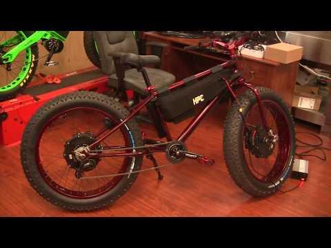 RED KRAKEN 12,000w FAT BIKE DUAL MOTOR 55+mph