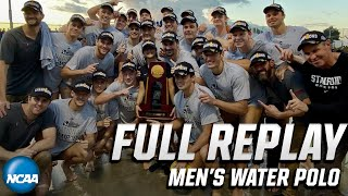 Stanford vs. Pacific: 2019 NCAA men's water polo championship (Full replay)