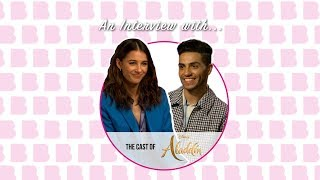 An Interview with | The Cast of Aladdin: Naomi Scott and Mena Massoud