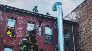 FDNY - Brooklyn All Hands Box 40 - Multiple Dwelling Fire in the Ductwork In Greenpoint, Brooklyn